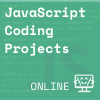 Green background with javascript coding, and JS in corner Coder Kids icon