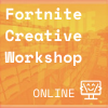 Yellow and orange background from Fornite Creative, Coder Kids icon